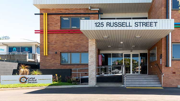 Carbal Medical Services | 125 Russell Street, Toowoomba